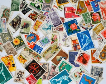 Lot of 60+ soviet stamps Postal collectibles 1960-1970's