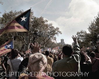 "Barcelona Photography, Spain Photography, Independence, Catalonia, Barcelona Photo, ""Catalonian Independence"""
