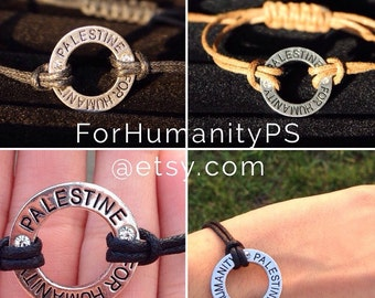 ForHumanityPS Infinite Support Rope Bracelet All NET Proceeds to PCRF