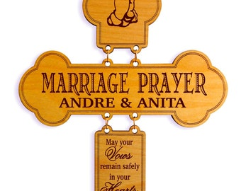 Gift From Mom and Dad to Daughter and Son In Law,Marriage Blessing from Parents,1st Anniversary Gift,Gift to a New Couple,Wedding Gift.
