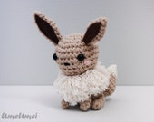Eevee Amigurumi Doll