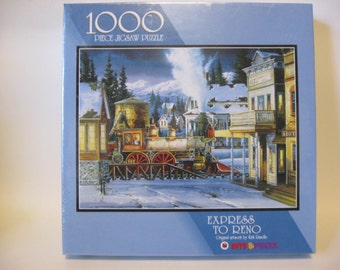 Bits and Pieces Express To Reno 1000 piece  jigsaw puzzle