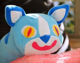Cat Pillow Decorative Pillow Cat Plush
