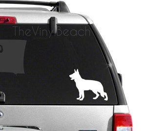 German Shepard - Dog Decal
