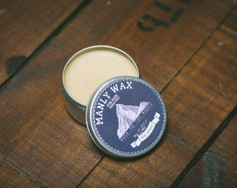 "MANLY WAX for hair ""white"""