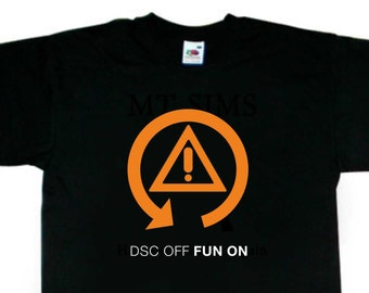 DSC Traction Off Fun On T-Shirt BMW Inspired BC73