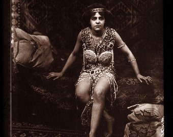 """Fred Glasier Photo, """"Woman Circus Performer in Costume"""", 1890-1925"""