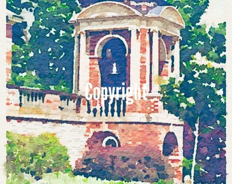 Photo Turned to Art - Sweet Briar College 2