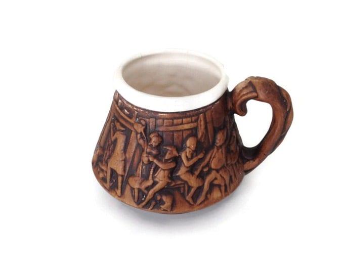 Beer Stein, Mulled Wine Stein, Medieval Stein, Vintage Beer Stein, Gift for Him