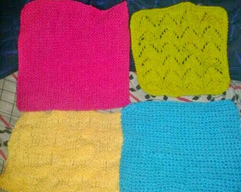 Series 4 wipes kitchen colors neon pink blue yellow-green