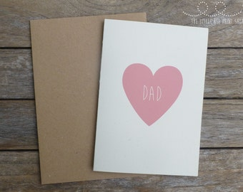 Love Dad Personalised Fathers Day Card