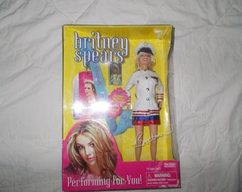 Britney Spears Preforming for You Play Along, Doll Collectable,New