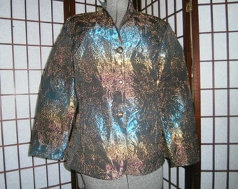 Dressy Iridescent Jacket
