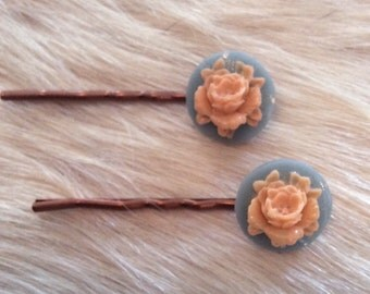 Antique Flower Hair Accessory