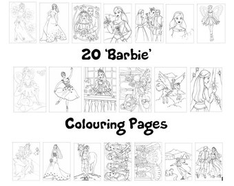Barbie Coloring Book