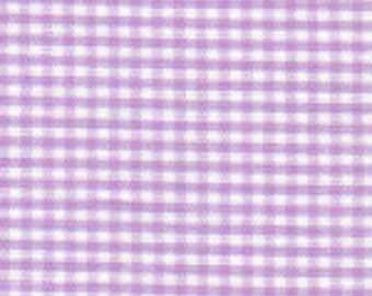 Purple Gingham, 1/16 Lilac Gingham
