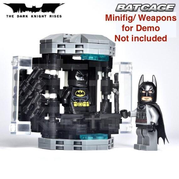 Lego Batman Batcave Custom Custom Batcave Batman Dark