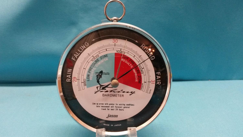 Jason fishing barometer for Barometer and fishing