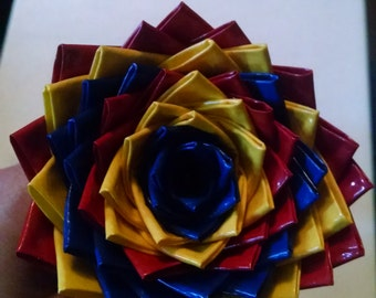 duct tape flower pens (you can actually write with them too)