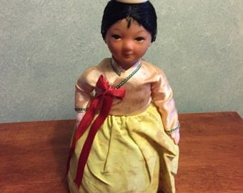 Vintage 1960s Battery Operated Doll