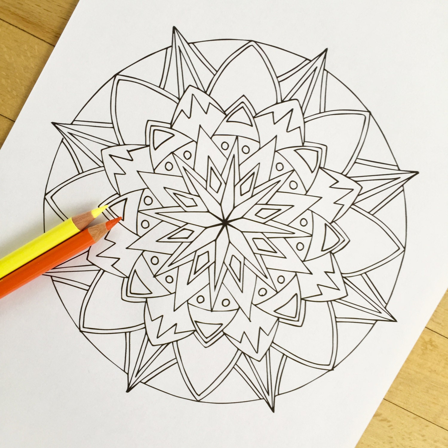 starburst coloring pages - photo#13