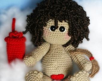 Elfin Thread - Cupid Amigurumi PDF Crochet Pattern (Doll Pattern)