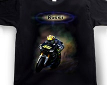Airbrushed Valentino Rossi T-shirt SuperBike MotoGP World Champion in all sizes