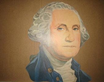 George Washington, Large 1940s/1950s Die-cut