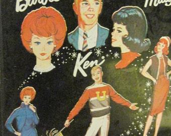 Barbie and Midge doll case 1964 Mattel