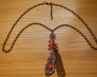 Native American Inspired Necklace/Earrings