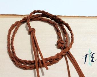 Braided Leather Belt for Toddlers // Children's Leather belt // Braided Leather Belt // Toddler Belt // Kids Belt // Boho Baby