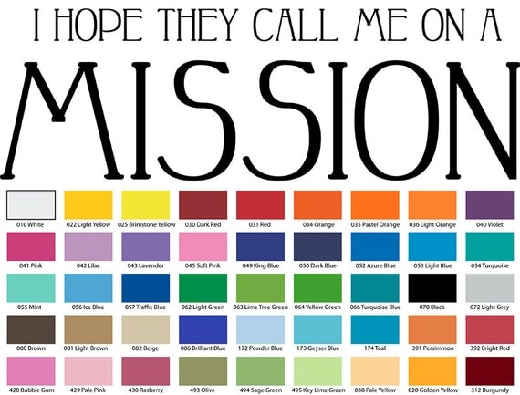 I Hope They Call Me On A Mission Wall Quote
