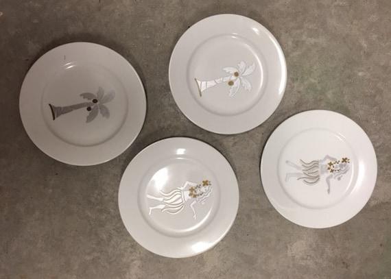 Hawaiian plate set