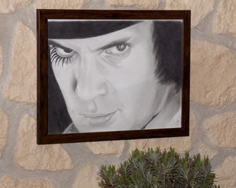 A Clockwork Orange portrait