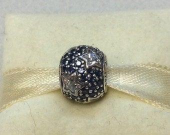 Authentic Pandora Silver Follow The Stars #791382CZ