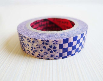 Japanese Washi Tape Rice Paper Tape Masking Tape - White Polka Dot and Sweet Heart Pattern (15m)