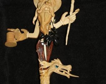 Dragon Tamer – walking stick