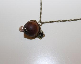 Acorn Charm Necklace