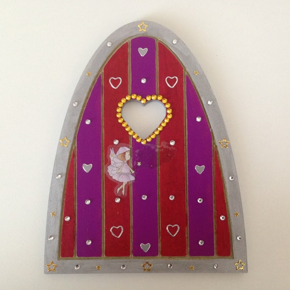 Fairy doors fairy decor fairy theme gifts by for Wooden fairy doors to decorate