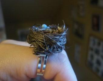 bird nest ring
