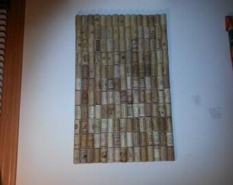Wall Wine Cork Tac Board