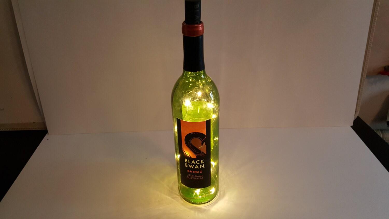 Led light up wine bottle for Light up wine bottles
