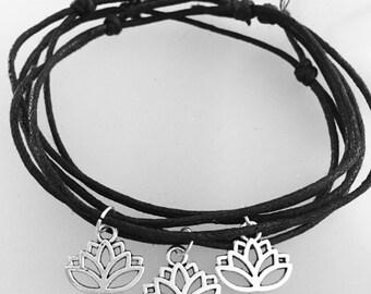 Lotus Flower Anklet