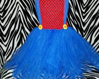 Super Mario Bros. Mario tutu dress
