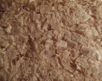 Maple wood smoker chips (bark free)