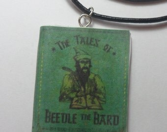 Harry Potter Hogwarts Books Advanced Potions Making/The Tales of Beedle The Bard Necklace