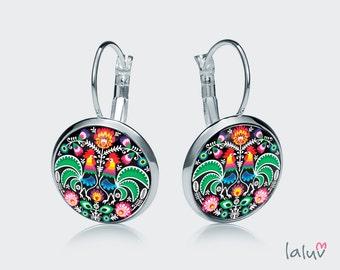 Earrings ROOSTERS
