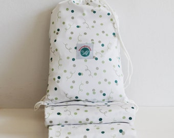 Cot Sheets - Organic Cotton (Confetti)