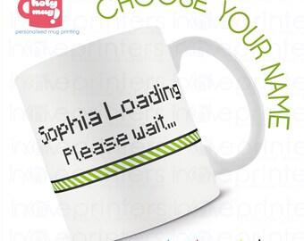 Holy Mug - Loading Personalised Initial Mug - Add your Name