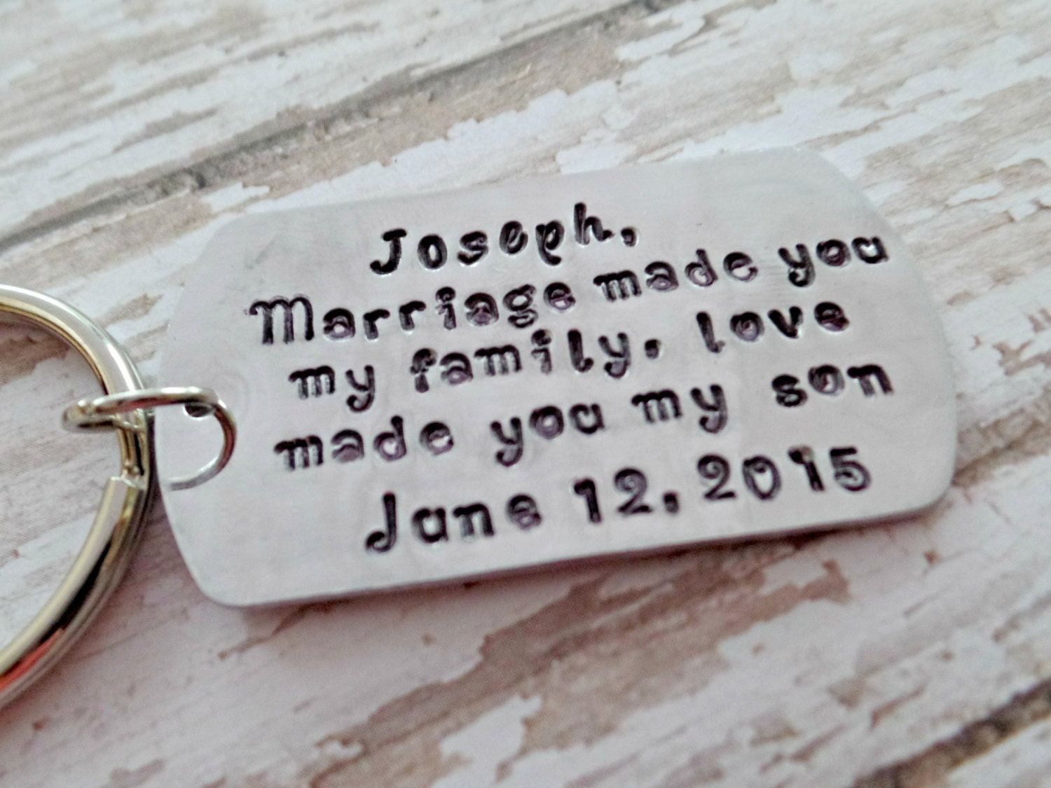 Wedding Gift Ideas Blended Family : Wedding Gifts Personalized Blended Family by TooStampingCutebyJK